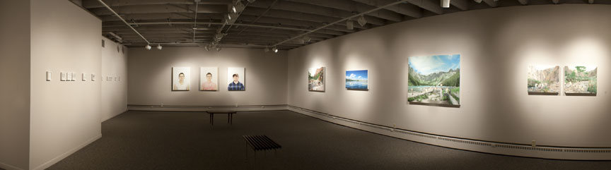 Sleeth Gallery - installation shot