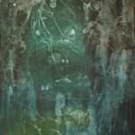 """Ominous Intaglio 36"""" x 22"""" 2012"""