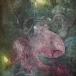 """Illuminate Intaglio 36"""" x 22"""" 2013"""