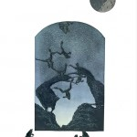 """Early Light Intaglio and chiné collé 30"""" x 22"""" 2021"""